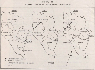 Pahang: Political Geography 1889-1902